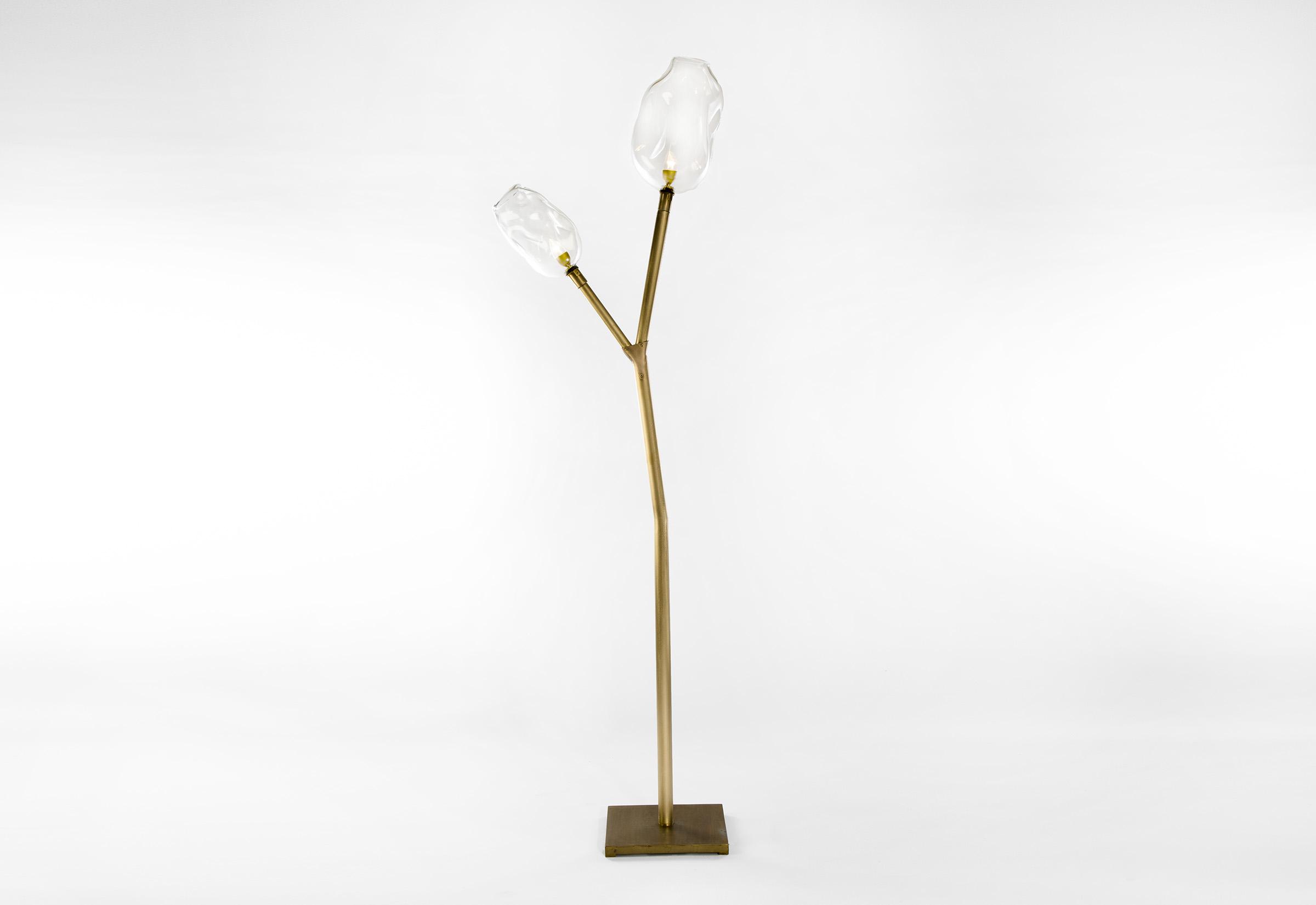 Au karanto blown glass floor lamp aloadofball Gallery